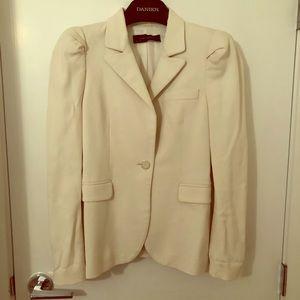Zara off white blazer